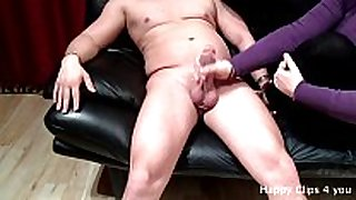 Amateur bbw sloppy cook jerking