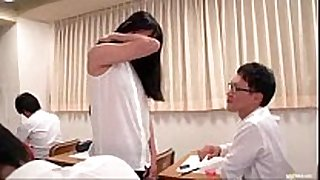 Asian teacher can not live out of sex